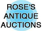 Rose's Antique Auctions