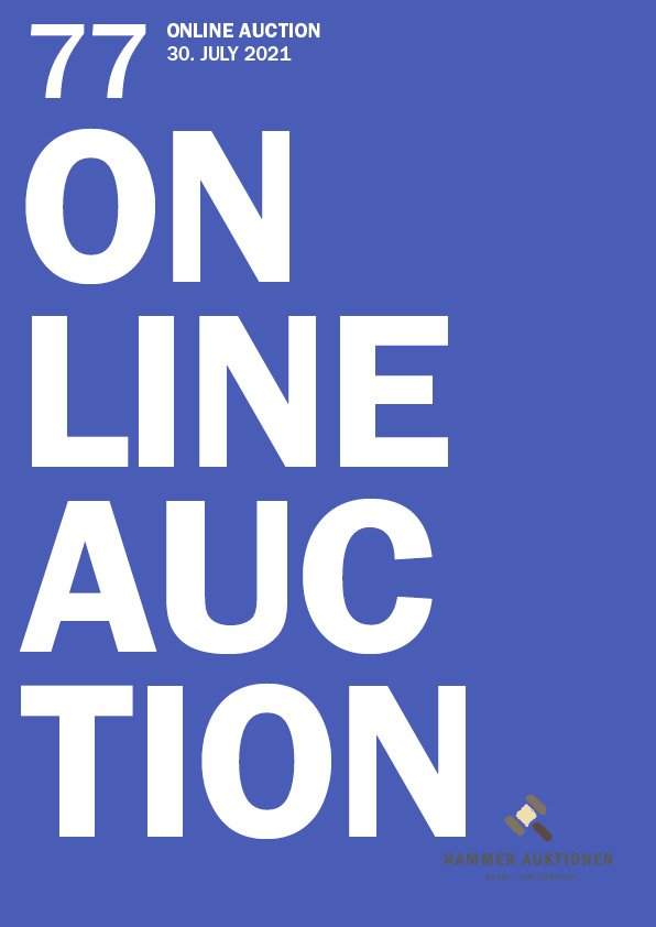 HAMMER 77 / Online Auction preview